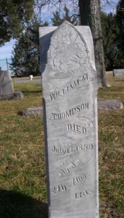THOMPSON, WILLIAM M. - Dawes County, Nebraska | WILLIAM M. THOMPSON - Nebraska Gravestone Photos