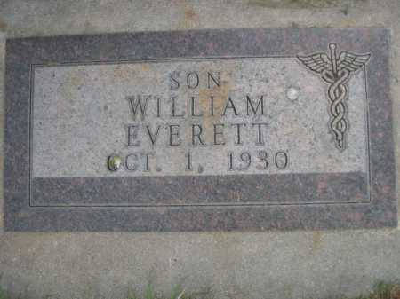 THOMPSON, WILLIAM EVERTT - Dawes County, Nebraska | WILLIAM EVERTT THOMPSON - Nebraska Gravestone Photos