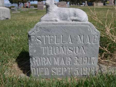 THOMSON, ESTELLA MAE - Dawes County, Nebraska | ESTELLA MAE THOMSON - Nebraska Gravestone Photos