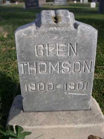 THOMSON, GLEN - Dawes County, Nebraska | GLEN THOMSON - Nebraska Gravestone Photos