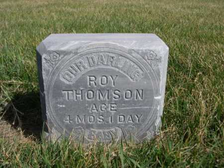 THOMSON, ROY - Dawes County, Nebraska | ROY THOMSON - Nebraska Gravestone Photos