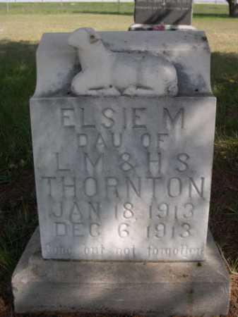 THORNTON, ELSIE M. - Dawes County, Nebraska | ELSIE M. THORNTON - Nebraska Gravestone Photos