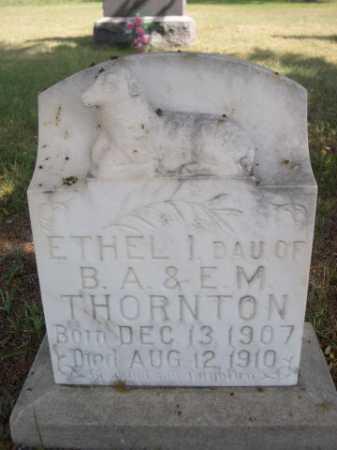 THORNTON, ETHEL - Dawes County, Nebraska   ETHEL THORNTON - Nebraska Gravestone Photos