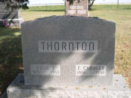 THORNTON, F. CHARLES - Dawes County, Nebraska | F. CHARLES THORNTON - Nebraska Gravestone Photos