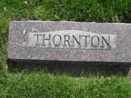 THORNTON, FAMILY - Dawes County, Nebraska | FAMILY THORNTON - Nebraska Gravestone Photos
