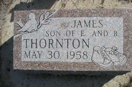 THORNTON, JAMES - Dawes County, Nebraska | JAMES THORNTON - Nebraska Gravestone Photos