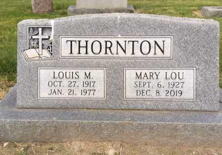 THORNTON, LOUIS M. - Dawes County, Nebraska | LOUIS M. THORNTON - Nebraska Gravestone Photos