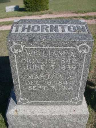 THORNTON, WILLIAM A. - Dawes County, Nebraska | WILLIAM A. THORNTON - Nebraska Gravestone Photos