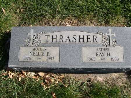 THRASHER, NELLIE P - Dawes County, Nebraska | NELLIE P THRASHER - Nebraska Gravestone Photos