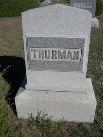THURMAN, FAMILY - Dawes County, Nebraska | FAMILY THURMAN - Nebraska Gravestone Photos