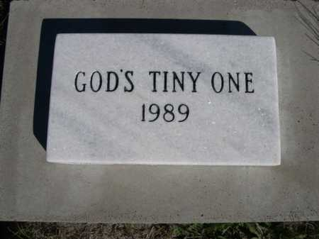 TINY ONE, GOD'S - Dawes County, Nebraska | GOD'S TINY ONE - Nebraska Gravestone Photos