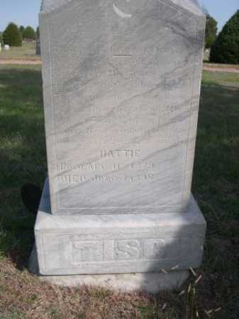 TISCH, HATTIE - Dawes County, Nebraska | HATTIE TISCH - Nebraska Gravestone Photos