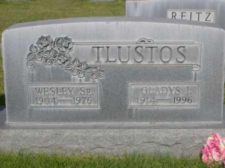 TLUSTOS, WESLEY SR. - Dawes County, Nebraska | WESLEY SR. TLUSTOS - Nebraska Gravestone Photos