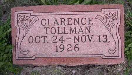 TOLLMAN, CLARENCE - Dawes County, Nebraska   CLARENCE TOLLMAN - Nebraska Gravestone Photos