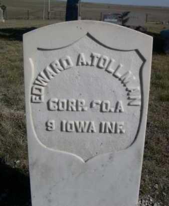TOLLMAN, EDWARD A. - Dawes County, Nebraska | EDWARD A. TOLLMAN - Nebraska Gravestone Photos
