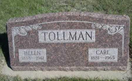 TOLLMAN, HELEN - Dawes County, Nebraska | HELEN TOLLMAN - Nebraska Gravestone Photos