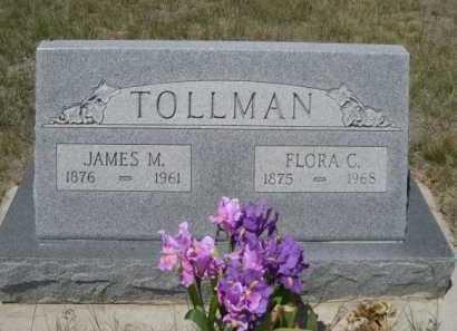 TOLLMAN, FLORA C. - Dawes County, Nebraska | FLORA C. TOLLMAN - Nebraska Gravestone Photos