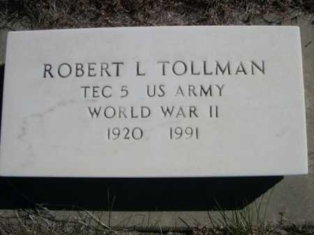 TOLLMAN, ROBERT L. - Dawes County, Nebraska | ROBERT L. TOLLMAN - Nebraska Gravestone Photos