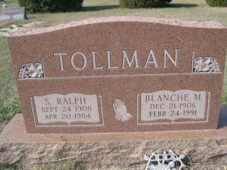 TOLLMAN, S. RALPH - Dawes County, Nebraska | S. RALPH TOLLMAN - Nebraska Gravestone Photos