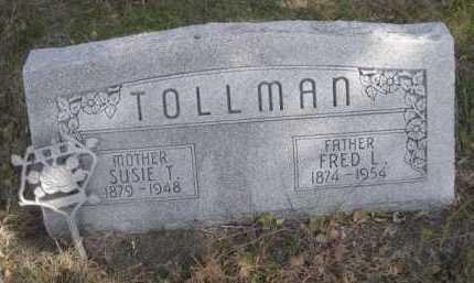 TOLLMAN, SUSIE T. - Dawes County, Nebraska | SUSIE T. TOLLMAN - Nebraska Gravestone Photos