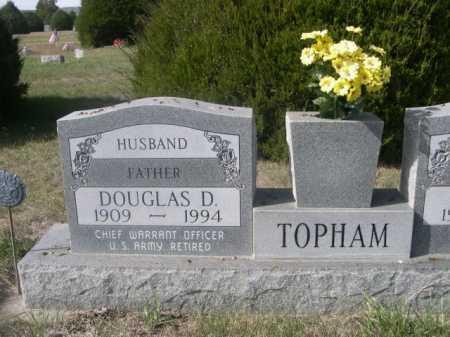 TOPHAM, DOUGLAS D. - Dawes County, Nebraska   DOUGLAS D. TOPHAM - Nebraska Gravestone Photos