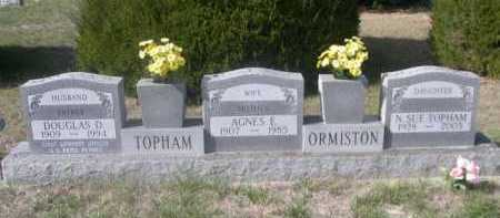 TOPHAM, DOUGLAS D. - Dawes County, Nebraska | DOUGLAS D. TOPHAM - Nebraska Gravestone Photos