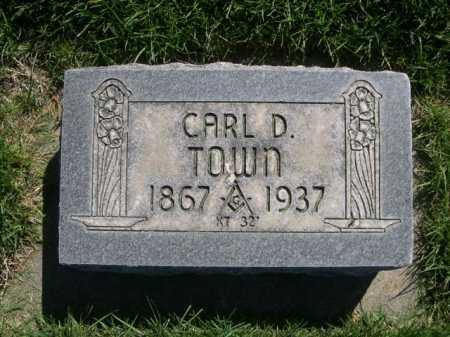 TOWN, CARL D. - Dawes County, Nebraska | CARL D. TOWN - Nebraska Gravestone Photos