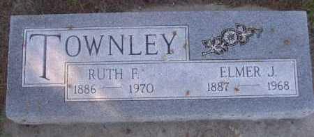 TOWNLEY, ELMER J. - Dawes County, Nebraska | ELMER J. TOWNLEY - Nebraska Gravestone Photos