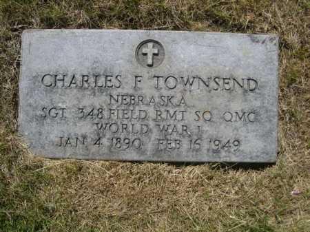 TOWNSEND, CHARLES F. - Dawes County, Nebraska   CHARLES F. TOWNSEND - Nebraska Gravestone Photos