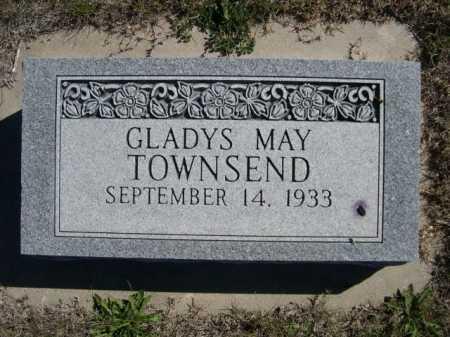 TOWNSEND, GLADYS MAY - Dawes County, Nebraska | GLADYS MAY TOWNSEND - Nebraska Gravestone Photos