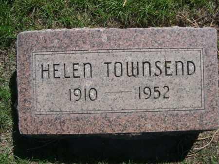 TOWNSEND, HELEN - Dawes County, Nebraska   HELEN TOWNSEND - Nebraska Gravestone Photos