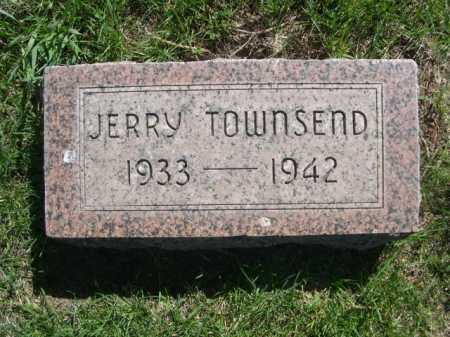 TOWNSEND, JERRY - Dawes County, Nebraska | JERRY TOWNSEND - Nebraska Gravestone Photos