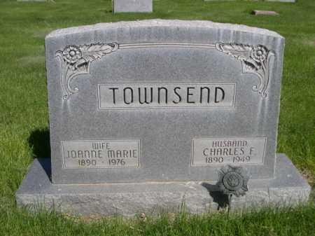 TOWNSEND, CHARLES F. - Dawes County, Nebraska | CHARLES F. TOWNSEND - Nebraska Gravestone Photos
