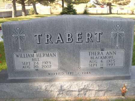 TRABERT, THERA ANN - Dawes County, Nebraska | THERA ANN TRABERT - Nebraska Gravestone Photos
