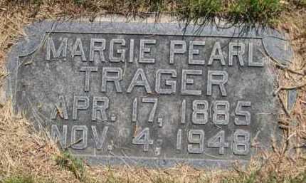 TRAGER, MARGIE PEARL - Dawes County, Nebraska | MARGIE PEARL TRAGER - Nebraska Gravestone Photos