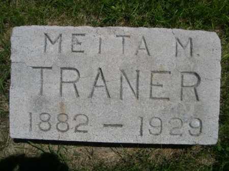 TRANER, METTA M. - Dawes County, Nebraska | METTA M. TRANER - Nebraska Gravestone Photos