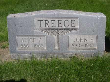 TREECE, JOHN F. - Dawes County, Nebraska | JOHN F. TREECE - Nebraska Gravestone Photos