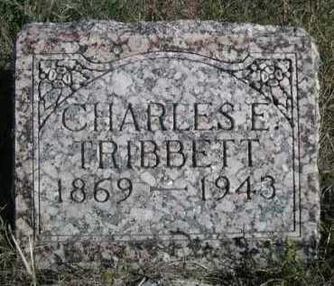TRIBBETT, CHARELS E. - Dawes County, Nebraska | CHARELS E. TRIBBETT - Nebraska Gravestone Photos