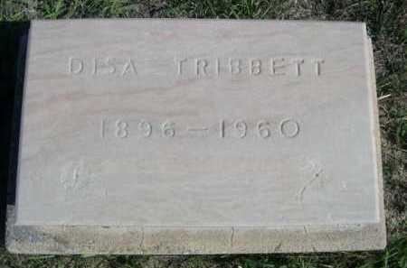 TRIBBETT, DISA - Dawes County, Nebraska   DISA TRIBBETT - Nebraska Gravestone Photos