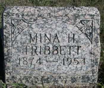TRIBBETT, MINA H. - Dawes County, Nebraska | MINA H. TRIBBETT - Nebraska Gravestone Photos