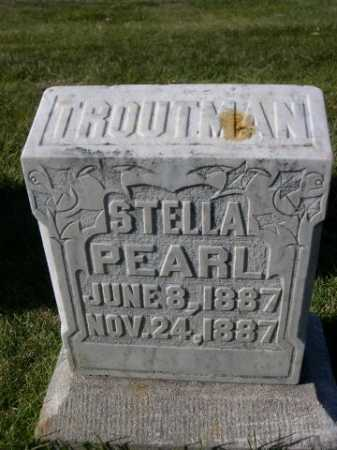 TROUTMAN, STELLA PEARL - Dawes County, Nebraska | STELLA PEARL TROUTMAN - Nebraska Gravestone Photos