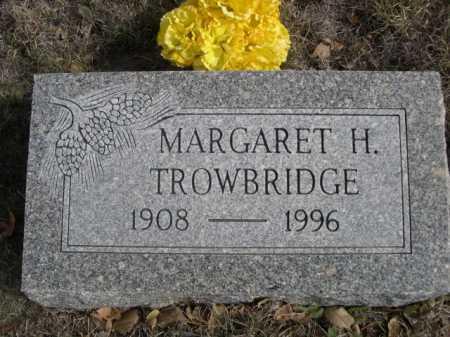 TROWBRIDGE, MARGARET H. - Dawes County, Nebraska   MARGARET H. TROWBRIDGE - Nebraska Gravestone Photos