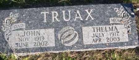 TRUAX, THELMA - Dawes County, Nebraska | THELMA TRUAX - Nebraska Gravestone Photos