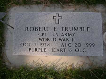 TRUMBLE, ROBERT E. - Dawes County, Nebraska | ROBERT E. TRUMBLE - Nebraska Gravestone Photos