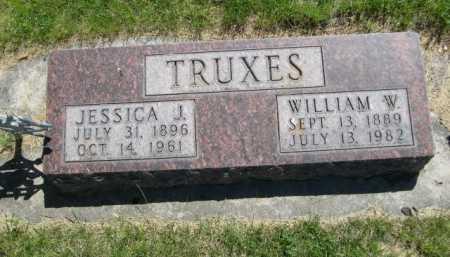 TRUXES, WILLIAM W. - Dawes County, Nebraska | WILLIAM W. TRUXES - Nebraska Gravestone Photos