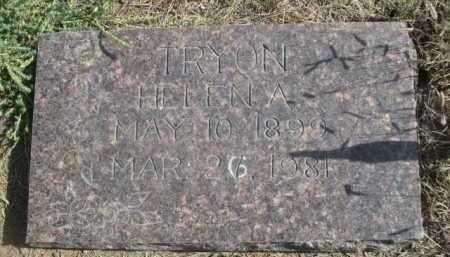 TRYON, HELENA - Dawes County, Nebraska | HELENA TRYON - Nebraska Gravestone Photos