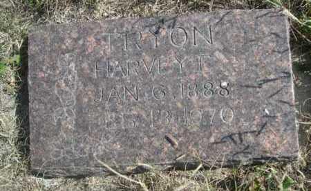 TRYON, HARVEY E. - Dawes County, Nebraska | HARVEY E. TRYON - Nebraska Gravestone Photos