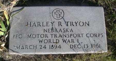 TRYON, HARLEY R. - Dawes County, Nebraska | HARLEY R. TRYON - Nebraska Gravestone Photos