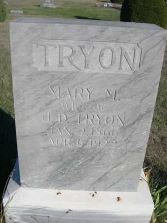 TRYON, MARY M. - Dawes County, Nebraska | MARY M. TRYON - Nebraska Gravestone Photos