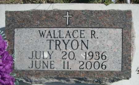 TRYON, WALLACE R. - Dawes County, Nebraska | WALLACE R. TRYON - Nebraska Gravestone Photos